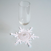 BL-ij snowflakes glass