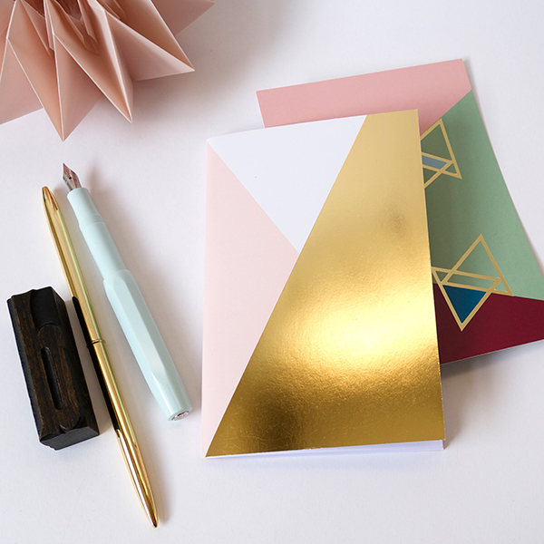 BL-ij notebook Gold Pink